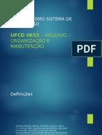 Arquivo como sistema de informação
