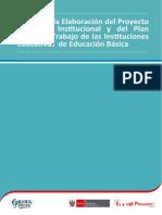 Guía para la Elaboración del Proyecto Educativo Institucional y del Plan Anual de Trabajo de las Instituciones Educativ (1)