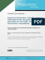 Justicias Bastardas - Tesis