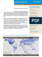 World Health Organization Situation Report for April 10, 2020