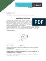 Sistemas de particulas y movimineto del centro de masas.docx