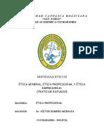 Sistemas Éticos   Texto