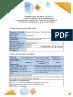 Guía de actividades y rúbrica de evaluación - Tarea 1 - Elementos teóricos de la Etnopsicología.pdf