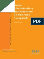 Acción Administrativa y Procedimientos en El Derecho Comparado (Vincenzo de Falco)