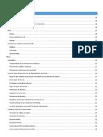 Índice de contenidos para la guía para examen de admisión a licenciatura UNAM