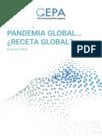 Coronavirus y crisis global… ¿receta global?