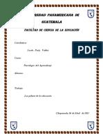 PILARES DE LA EDUCACION