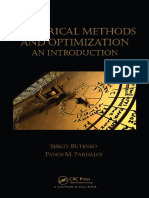 Numerical Methods and Optimization an Introduction