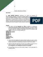 Ejemplo 1 de Derecho de Petición
