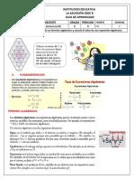 Guia2.  Octavo Terminos algebraicos