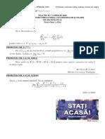 FIȘA NR. 19 (3 APRILIE 2020) simulare OJM - ONM clasa a XI-a - fara soluții