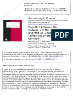2 Does Size Influence the Suitability of the IFRS for Small and Medium-Sized Entities