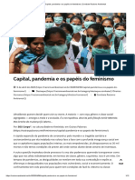 Capital, pandemia e os papéis do feminismo _ Combate Racismo Ambiental