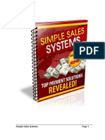 SIMPLE SELL SYSTEM & The # Steps MONEY-MACHINE System