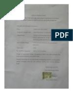 surat pernyataan patuh kode etik rosa