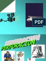 Perforacion minera