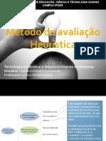 Aula 09 - Heurísticas para usabilidade