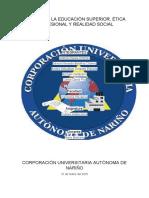 PILARES DE LA EDUCACIÓN CULTURA