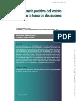 INFLUENCIA DEL ESTRÉS EN LA TOMA DE DECISIONES