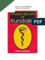 Antiguos secretos de KUNDALINI-oculto en el Panchastavi-Gopi Krishna