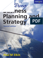 Paul Elkin - Mastering Business Planning and Strategy_ The Power and Application of Strategic Thinking-Thorogood (2007).pdf