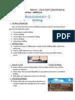 Drilling Process info.