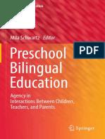 (Multilingual Education 25) Mila Schwartz - Preschool Bilingual Education-Springer International Publishing (2018)