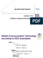 CENG 4406  Cellular wireless Networks   Lecture 2
