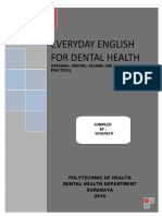 EVERYDAY ENGLISH FOR DENTAL HEALTH_alih jenjang 2019