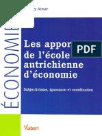 Aimar, Thierry - Les apports de l'école autrichienne d'économie.pdf