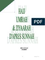 Explication Lors Hajj Umrah Et Ziyaarah
