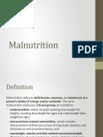Malnutrition micro
