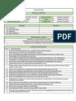 Design Distrikt - Minutes of Meeting