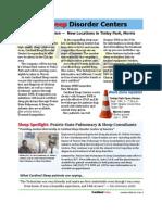 Cardinal Sleep Newsletter, Summer 08