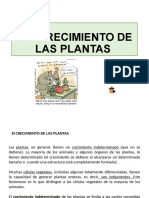 9.3 CRECIMIENTO DE LAS PLANTAS