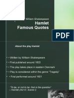 Famous Quotes - Hamlet