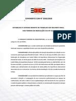PROVIMENTO CSM N° 2550/2020