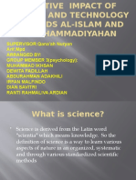 NEGATIVE  IMPACT OF SCIENCE AND TECHNOLOGY TOWARDS AL-ISLAM.pptx