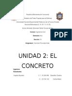El concreto (Informe, Grupo N°2) (Recuperado automáticamente).docx
