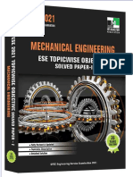Mechanical engineering ese topicwise solved paper