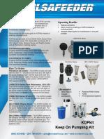 Pulsafeeder Pulsatron Series KOPkit Datasheet