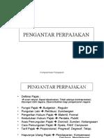 Bab 1& 2 PENGANTAR PERPAJAKAN