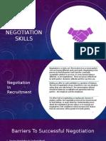 Recruitment Training - Negotitation