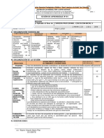 sesion de didactica aplicadaal area de personal social  inicial -V-25-3-19