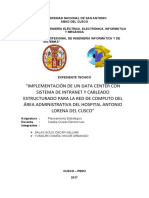 EXPEDIENTE TECNICO DEL ÁREA ADMINISTRATIVA DEL HOSPITAL ANTONIO LORENA DEL CUSCO