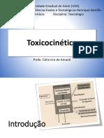 Toxicocinética - absorção, distribuição e excreção de toxicantes