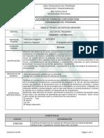 Programa de Formación Complementaria ESPECIES MNOERES