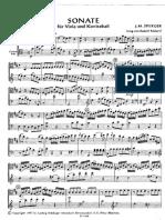 SPERGER-Sonate Viola-Kontrabass
