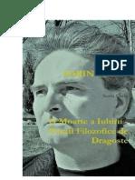 O Moarte a Iubirii - Poezii Filozofice de Dragoste de Sorin Cerin (Romanian edition)