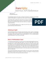 221126075 WolframAlpha API Reference